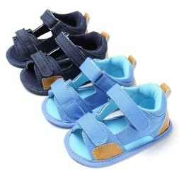 0-18M Baby Boys Casual Sandals Toddler Kids Soft Sole Shoes