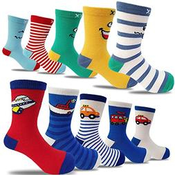 10 Pairs Kids Toddler Boys Girls Colorful Novelty Fashion Co