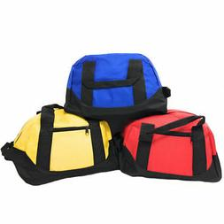 "12"" Duffel Duffle Travel Sports Gym Bags Mini Carry-on Lugga"