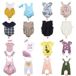 17Types for Choose Cute Newborn Baby Boys Girls Jumpsuit Rom