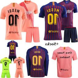 2018/19 Football Club Jerseys Short Sleeve Sports Shirts Kid