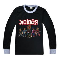 2019 new cotton ROBLOX big children's jackets boys' long sle