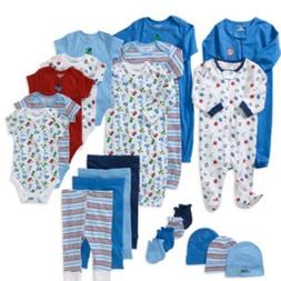 21 piece layette set for baby boy