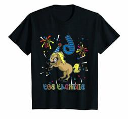 6th Birthday Horse Shirt 6 Years Old Party Gift for Boys