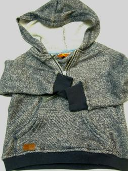 7 Seven For All Mankind Boys Kids 18 Months Hoodie 1/3 zippe