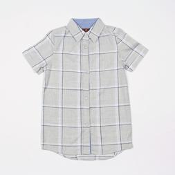 7 FOR ALL MAN KIND BOYS BUTTON-UP SHIRT