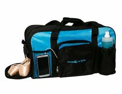 8431 All For Dance Large Duffel Bag for Dancers - Blue