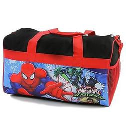 "Boy's Spiderman 18"" Duffel Bag. Marvel Kids Overnight/Duffel"