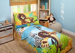 Disney DreamWorks Animation Madagascar Behold My Mane 4 Piec