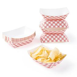 Disposable Paper Food Tray for Carnivals, Fairs, Festivals,