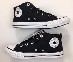 Converse All Star Chuck Taylor Black slip-on shoes for boys