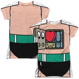 Astro Boy Cartoon Anime COSTUME 2-Sided All Over Print Poly