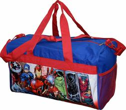 Avengers Heroes Boys Duffel bag Sleep Over Night Travel Carr