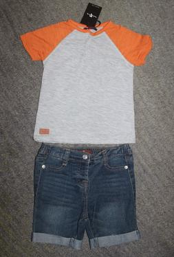 7 For All Mankind Baby Boys 2 Piece Outfit - Size 24 Months