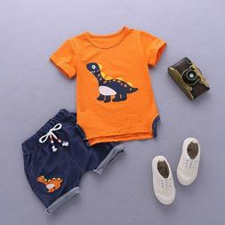 Baby Boys Clothes Sets Children Clothing Summer Short Sleeve