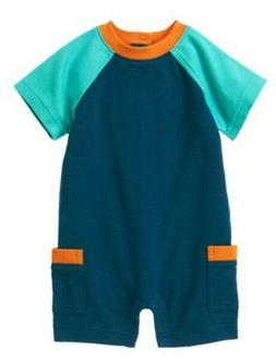 Baby Clothes Gymboree Marine Blue One-Piece For Baby Boy 0-3