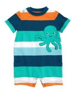 Baby Clothes Gymboree Octopus Theme One-Piece For Baby Boy S