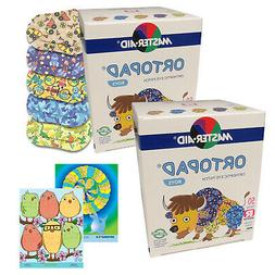 Ortopad® Bamboo for Boys, Regular size, 2 boxes + 2 posters