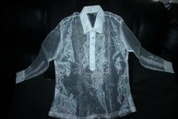 BARONG TAGALOG FOR BOYS SIZE 12 MAY FIT TO 7-8 YEARS OLD BOY