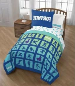 Fortnite Bedding Set For Boys Twin Full Comforter Sham Bed R