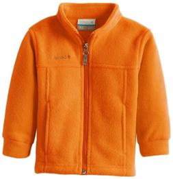 Columbia Big Boys' Steens MT II Fleece Jacket, Valencia, X-L