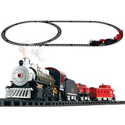 vrchil Big Train Set Toy for Boys, Kids Classical Train with