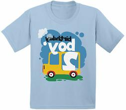 Birthday Boy Toddler Shirt Toy Truck Gifts for Boys 2nd Birt