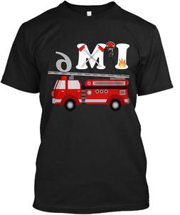 Birthday For 6 Year Old Boys Fire Hanes Tagless Tee T-Shirt