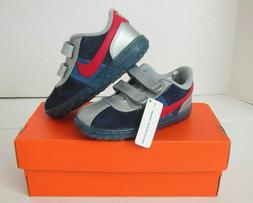 NIKE BLUE Toddler Nike SMS Roadrunner Lea Shoes Size 9C & 10