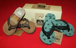 ~~BOY'S REEF AHI FLIP FLOPS...SIZE 11-12...ARCHED SOLE...NEW