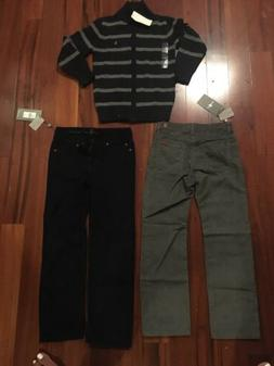 BOYS 7 For All Mankind Pants /ralph Lauren Polo Top NWT size