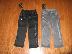 Under Armour BOYS ATHLETIC PANTS GRAPHITE or  BLACK SIZE 4 /