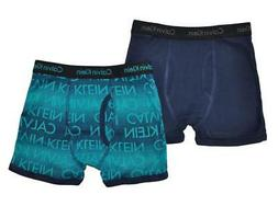 Calvin Klein Boys Blue 2 Pack Boxer Briefs Size 4/5 6/7 8/10
