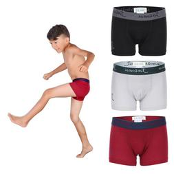 Boys Boxer Briefs - Cotton Underwear For kids, Toddler and T