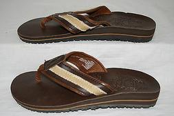 BOYS STONE CREEK BROWN FLIP-FLOPS - SEE LISTING FOR SIZES