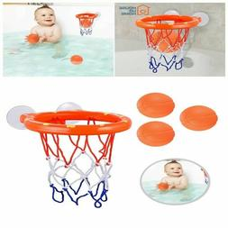 Bath Toy For Boys Girls 1 2 3 Year Old Net Basketball Hoop T