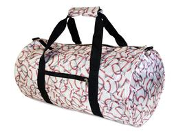 Baseball Theme Print Duffle Bag Duffel Travel Carry On 19 in