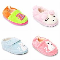 Boys Girls Plush Warm Cute Bunny House Slippers For Toddler
