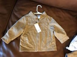 Gymboree Boys Khaki Jacket 18-24 Months Could Also Be For 2T