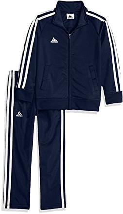 boys little tricot jacket and pant set