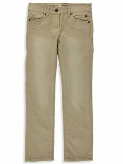 7 For All Mankind Boys' Slimmy Straight Twill Jeans