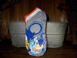 SONIC HEDGE HOG BOYS SOCKS FOR SHOE SIZE 3-9 YOUTH 7 PAIRS C