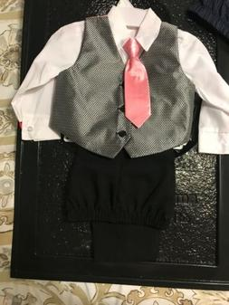 boys suit size 2T ...pink...great for Easter Sunday