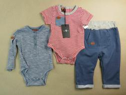 7 For All Mankind Boys Three Piece Outfit Set Pants Two Shir