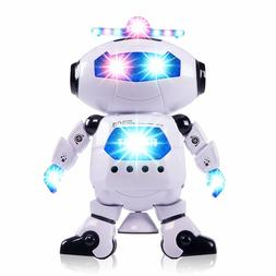Boys Toys Electronic Walking Dancing Robot Toy - Best Gift f