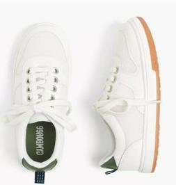 boys white sneakers shoes nwt size 13