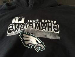 BOYS YOUTH SIZE XL PHILADELPHIA EAGLES SUPER BOWL CHAMPIONS