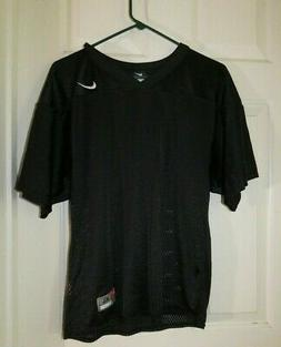 BOYS YOUTH XLG NIKE BLACK FOOT BALL JERSEY GREAT FOR MAN CAV