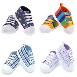 Breathable Canvas Shoes For Kids Boys Girls 0-18 Years Old C