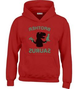 Brother Saurus - Cute Boy T-Rex Gift for Big Brother Youth H